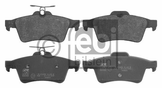 Kit de plaquettes de frein, frein à disque - FEBI BILSTEIN - 16744