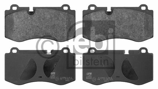 Kit de plaquettes de frein, frein à disque - FEBI BILSTEIN - 16745