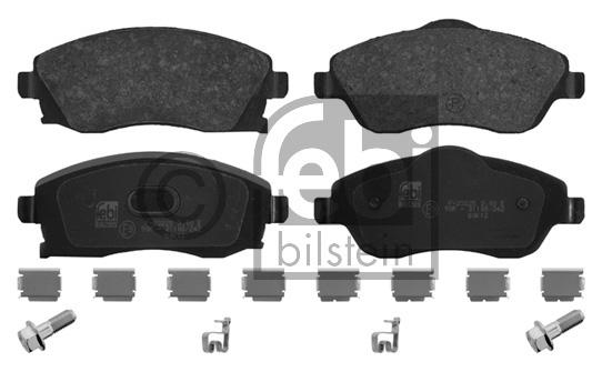 Kit de plaquettes de frein, frein à disque - FEBI BILSTEIN - 16748
