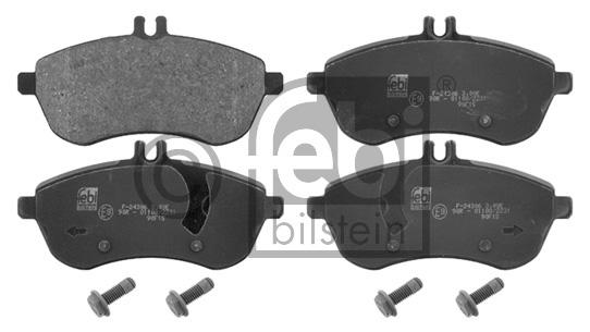 Kit de plaquettes de frein, frein à disque - FEBI BILSTEIN - 16749