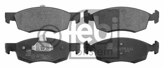 Kit de plaquettes de frein, frein à disque - FEBI BILSTEIN - 16750
