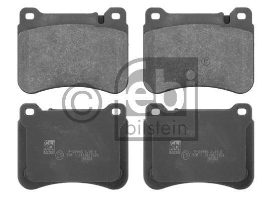 Kit de plaquettes de frein, frein à disque - FEBI BILSTEIN - 16751