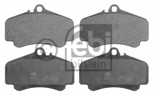 Kit de plaquettes de frein, frein à disque - FEBI BILSTEIN - 16752