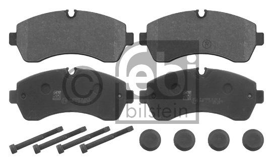 Kit de plaquettes de frein, frein à disque - FEBI BILSTEIN - 16753