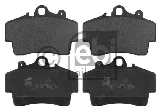Kit de plaquettes de frein, frein à disque - FEBI BILSTEIN - 16759