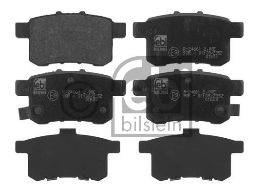 Kit de plaquettes de frein, frein à disque - FEBI BILSTEIN - 16766