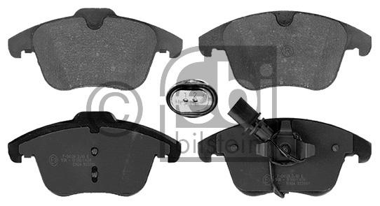 Kit de plaquettes de frein, frein à disque - FEBI BILSTEIN - 16768