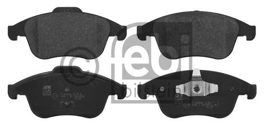 Kit de plaquettes de frein, frein à disque - FEBI BILSTEIN - 16770