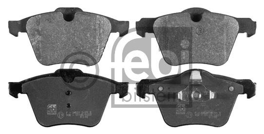 Kit de plaquettes de frein, frein à disque - FEBI BILSTEIN - 16772
