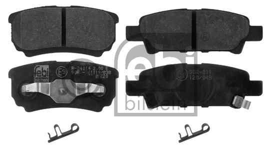 Kit de plaquettes de frein, frein à disque - FEBI BILSTEIN - 16774