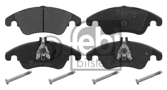 Kit de plaquettes de frein, frein à disque - FEBI BILSTEIN - 16777