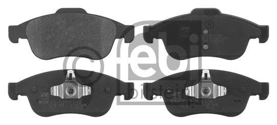 Kit de plaquettes de frein, frein à disque - FEBI BILSTEIN - 16783