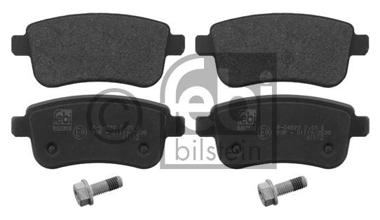Kit de plaquettes de frein, frein à disque - FEBI BILSTEIN - 16784