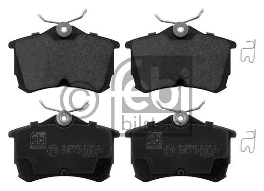 Kit de plaquettes de frein, frein à disque - FEBI BILSTEIN - 16790