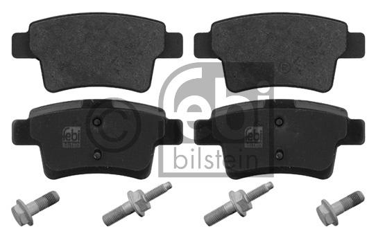 Kit de plaquettes de frein, frein à disque - FEBI BILSTEIN - 16793