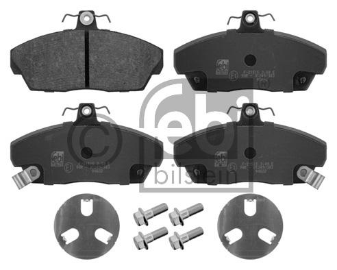Kit de plaquettes de frein, frein à disque - FEBI BILSTEIN - 16800