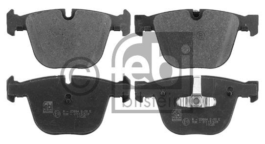 Kit de plaquettes de frein, frein à disque - FEBI BILSTEIN - 16804