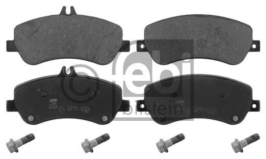 Kit de plaquettes de frein, frein à disque - FEBI BILSTEIN - 16808
