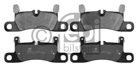 Kit de plaquettes de frein, frein à disque - FEBI BILSTEIN - 16809
