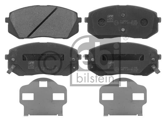 Kit de plaquettes de frein, frein à disque - FEBI BILSTEIN - 16816