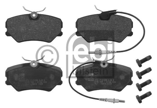 Kit de plaquettes de frein, frein à disque - FEBI BILSTEIN - 16818