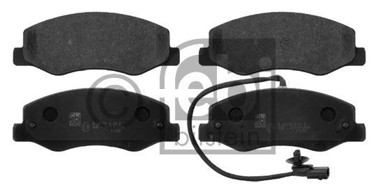 Kit de plaquettes de frein, frein à disque - FEBI BILSTEIN - 16819