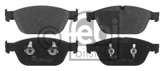 Kit de plaquettes de frein, frein à disque - FEBI BILSTEIN - 16822