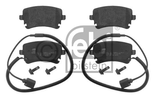 Kit de plaquettes de frein, frein à disque - FEBI BILSTEIN - 16826