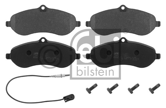 Kit de plaquettes de frein, frein à disque - FEBI BILSTEIN - 16830