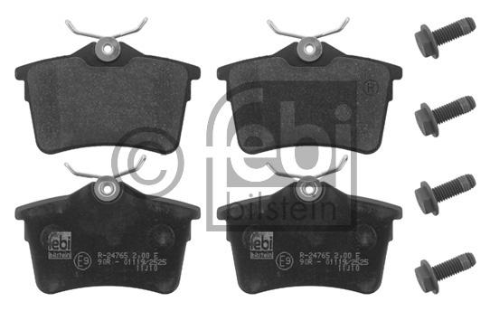 Kit de plaquettes de frein, frein à disque - FEBI BILSTEIN - 16831