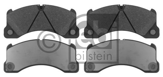 Kit de plaquettes de frein, frein à disque - FEBI BILSTEIN - 16837