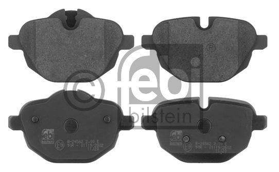 Kit de plaquettes de frein, frein à disque - FEBI BILSTEIN - 16839