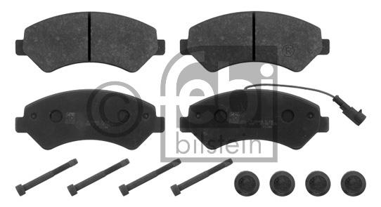 Kit de plaquettes de frein, frein à disque - FEBI BILSTEIN - 16840