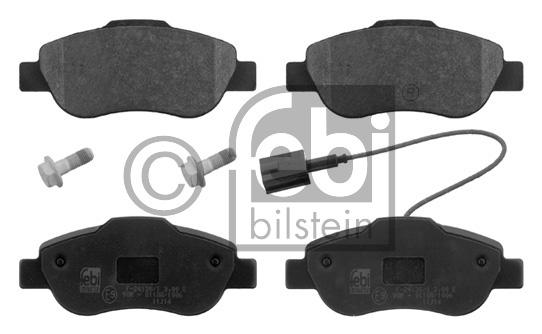 Kit de plaquettes de frein, frein à disque - FEBI BILSTEIN - 16841