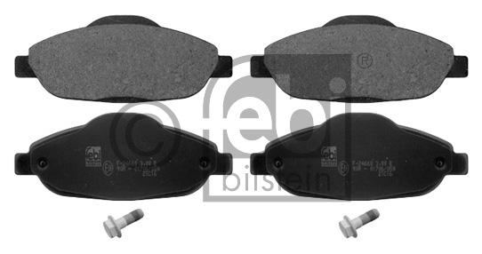Kit de plaquettes de frein, frein à disque - FEBI BILSTEIN - 16844