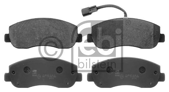 Kit de plaquettes de frein, frein à disque - FEBI BILSTEIN - 16845
