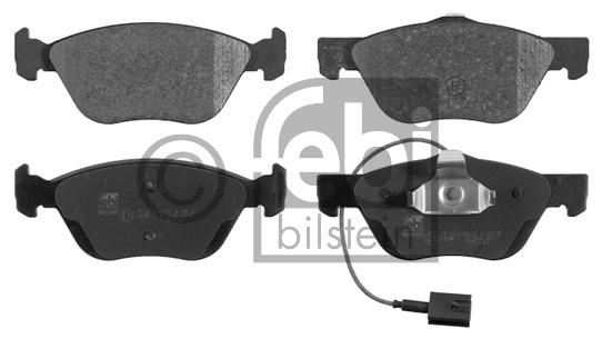 Kit de plaquettes de frein, frein à disque - FEBI BILSTEIN - 16849