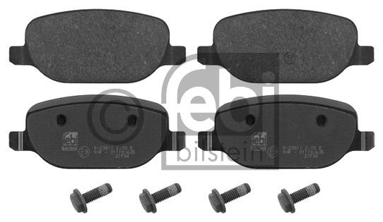 Kit de plaquettes de frein, frein à disque - FEBI BILSTEIN - 16851