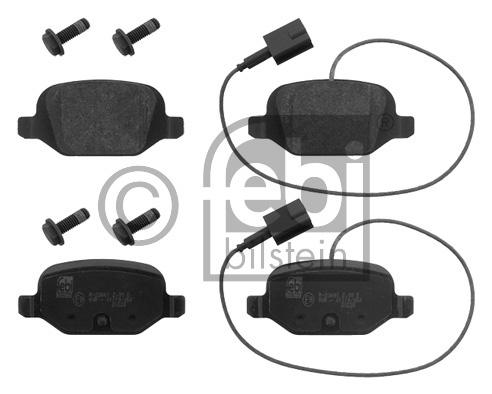 Kit de plaquettes de frein, frein à disque - FEBI BILSTEIN - 16856