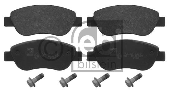 Kit de plaquettes de frein, frein à disque - FEBI BILSTEIN - 16857