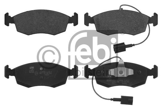 Kit de plaquettes de frein, frein à disque - FEBI BILSTEIN - 16858