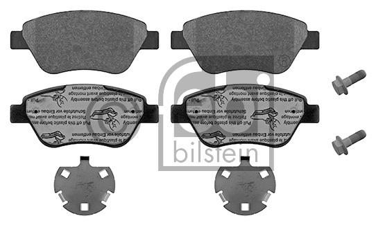 Kit de plaquettes de frein, frein à disque - FEBI BILSTEIN - 16859