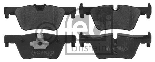 Kit de plaquettes de frein, frein à disque - FEBI BILSTEIN - 16863