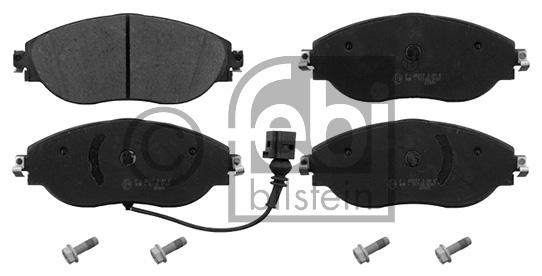 Kit de plaquettes de frein, frein à disque - FEBI BILSTEIN - 16868