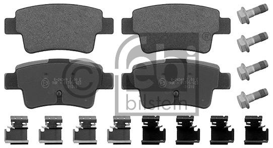 Kit de plaquettes de frein, frein à disque - FEBI BILSTEIN - 16880