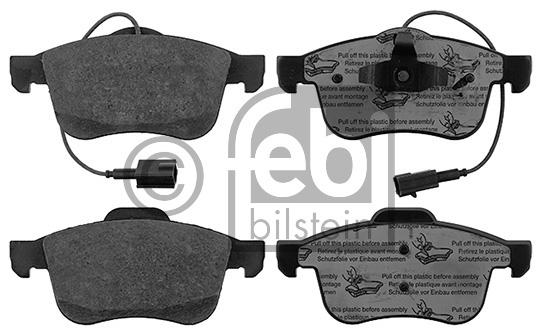 Kit de plaquettes de frein, frein à disque - FEBI BILSTEIN - 16881