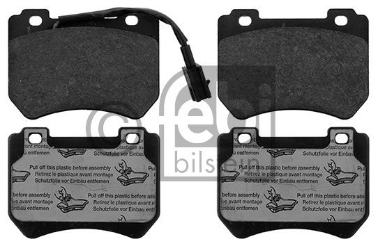 Kit de plaquettes de frein, frein à disque - FEBI BILSTEIN - 16882