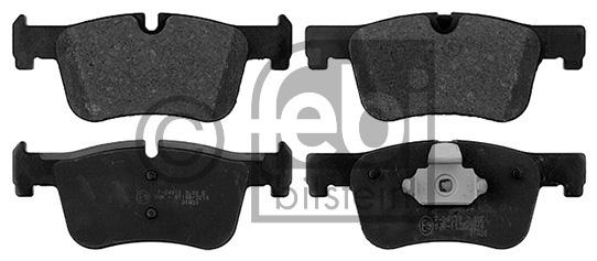 Kit de plaquettes de frein, frein à disque - FEBI BILSTEIN - 16884