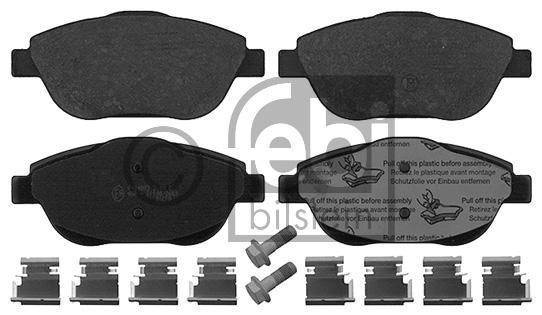 Kit de plaquettes de frein, frein à disque - FEBI BILSTEIN - 16888