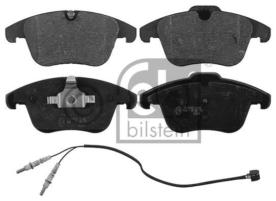 Kit de plaquettes de frein, frein à disque - FEBI BILSTEIN - 16889